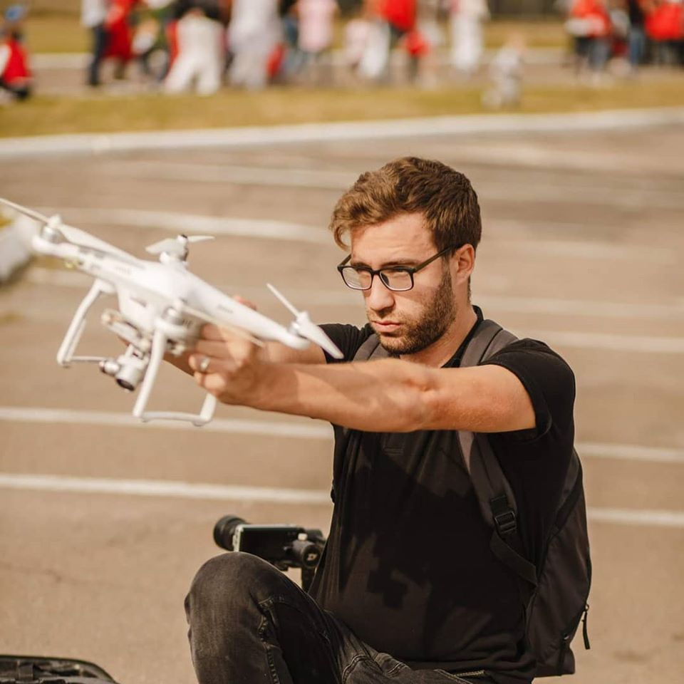 Аэровидеосъемка с дрона и квадрокоптера