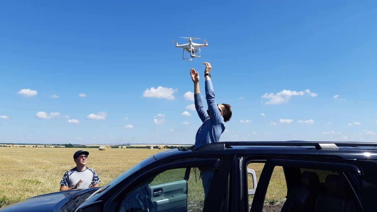 Аэросъемка и видеосъемка с квадрокоптера